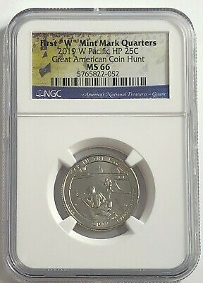 $ CDN33.86 • Buy 2019 W NGC MS66 GUAM QUARTER AMERICAN COIN HUNT WAR IN PACIFIC HP 25c WEST POINT