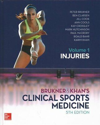 Brukner And Khans Clinical Sports Medicine Injuries, Volume 1 9781760421663 • 88.29£