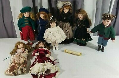 $ CDN151.46 • Buy Vintage Victorian Porcelain Doll Lot Primrose Knightsbridge Collection Choice