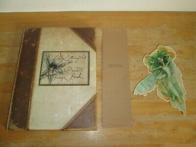 Lady Cottington's Pressed Fairy Book By Terry Jones HB 1994 With Fairy Bookmark • 29.99£