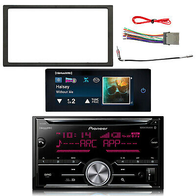 $231.49 • Buy Pioneer Double DIN Bluetooth CD Receiver, Dash Kit, Harness, Adapter, Tuner
