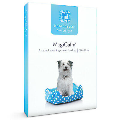 £7.95 • Buy Calming Supplement For Dogs With Magnesium, B Vitamins & Chamomile Healthspan
