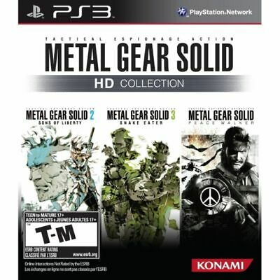£19.69 • Buy Metal Gear Solid HD Collection Game PS3 (#)