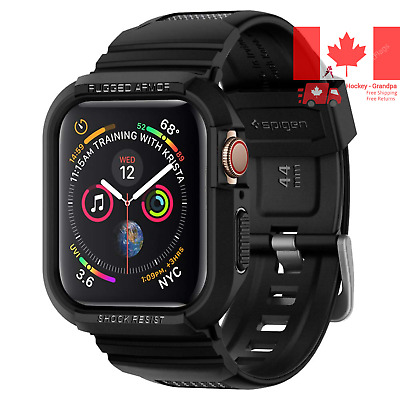 $ CDN28 • Buy Rugged Armor Pro Designed For Apple Watch Case For 44mm Series 5 Series 4 - B...