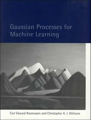 £29.98 • Buy Gaussian Processes For Machine Learning By Carl Edward Rasmussen 9780262182539