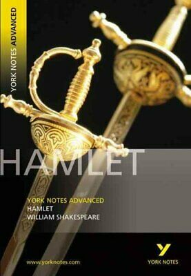 Hamlet: York Notes Advanced By William Shakespeare 9780582784284 | Brand New • 7.49£