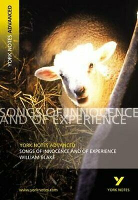 Songs Of Innocence And Experience: York Notes Advanced 9780582784338 | Brand New • 6.78£