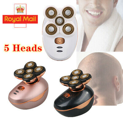 View Details 5 In 1 4D Electric Rotary Shaver Rechargeable Bald Head Razor Beard Trimmer • 49.99£