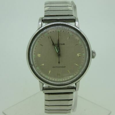 $ CDN51.24 • Buy Vintage Bulova Stainless Steel Unicase Watch Parts