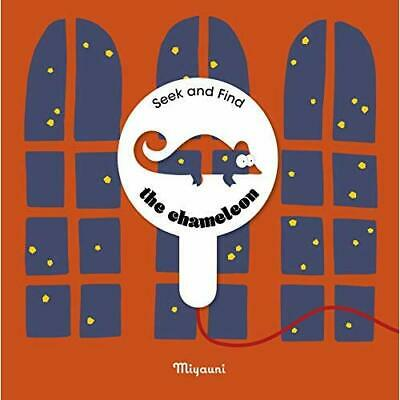 The Chameleon: A Seek And Find Book - Hardcover NEW Miyauni 10/04/2021 • 14.43£