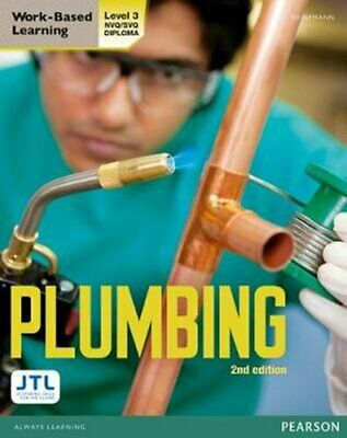 Level 3 NVQ/SVQ Plumbing Candidate Handbook By JTL Training 9780435031169 • 40.01£