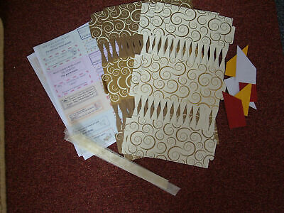 8 14  Cream & Gold Make Fill Your Own Crackers Christmas Wedding Birthday • 7£
