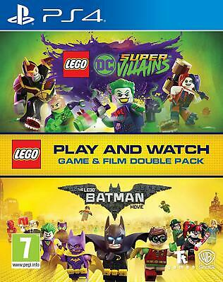 AU42.72 • Buy Lego DC Super-Villains Game & Film Double Pack PS4 Game