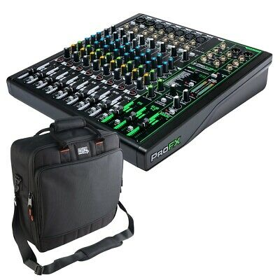 $344.99 • Buy Mackie ProFX12v3 Effects Mixer With USB CARRY BAG KIT