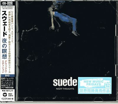 Suede-night Thoughts(deluxe Edition)-japan Cd+dvd H20 • 27.99£