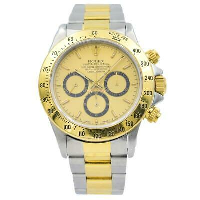 $12950 • Buy Rolex Daytona - 16523 - Two-Tone With Zenith Movement Circa 1995 - 40mm