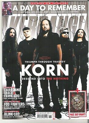 KERRANG #1789 KORN:A DAY TO REMEMBER:READING + Posters + Artprint • 4.99£