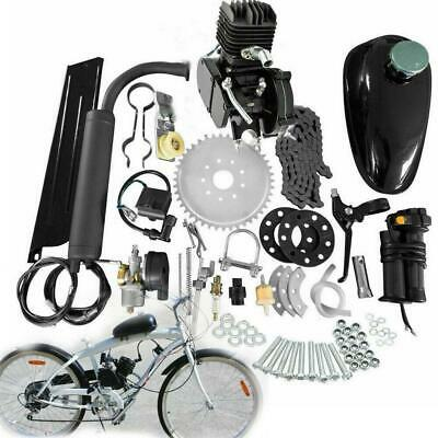 New 2 Stroke 80cc Complete Bicycle Bike Motored Gas Engine Kit 38km/h US Stock • 94$