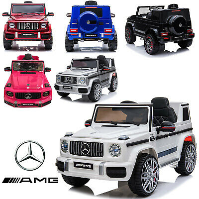 Kids New Licensed Mercedes Benz G63 AMG 12V Battery Electric Ride On Car  • 159.99£