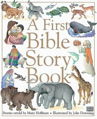 A First Bible Story Book Children Hardback Illustrated Gift Religion NEW • 5.19£