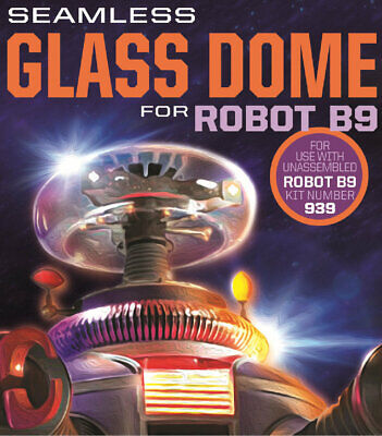 AU53.56 • Buy Lost In Space B9 Robot Retrofit Glass Dome Kit B-9 Moebius Models MM947