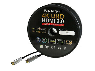 $ CDN68.06 • Buy 82 To 328FT HDMI AOC Cable Active Fiber Optic HDTV 4K 60Hz 18Gb HDR ARC HDCP 2.2