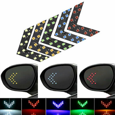 $0.99 • Buy 1Pair Car 14-SMD LED Arrow Lights For Car Side Mirror Turn Signal Accessories