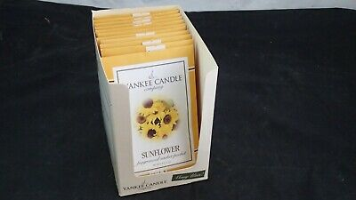 Lot Of 11 Yankee Candle Sunflower Fragranced Sachet Packet 0.4 Oz • 20.07£