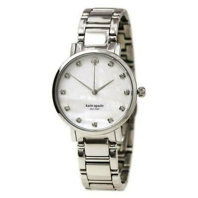 $ CDN120.32 • Buy Kate Spade Women's Watch Gramercy MOP Dial Stainless Steel Bracelet 1YRU0006