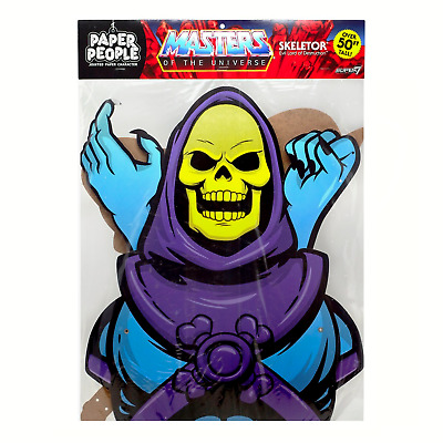 $25 • Buy Masters Of The Universe Paper People - Skeletor