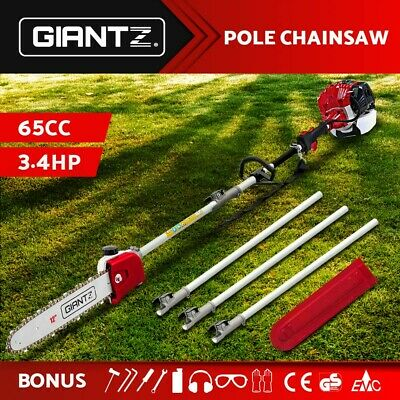 AU154.95 • Buy Giantz 65CC Pole Chainsaw Petrol Chain Saw Brush Cutter Brushcutter Tree