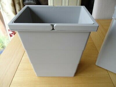 £12.79 • Buy Replacement Bin Insert 8.5 Liters For Hailo Space Saving Tandem (502.70.833)