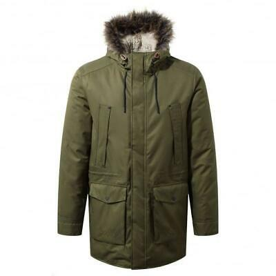 Craghoppers Argyle Mens Jacket Waterproof Windproof Breathable Parka Coat • 79.99£