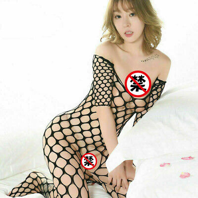 $6.45 • Buy Adult Women Sexy Lingerie  Body Stockings Sleepwear Dress Babydoll Nightwear US