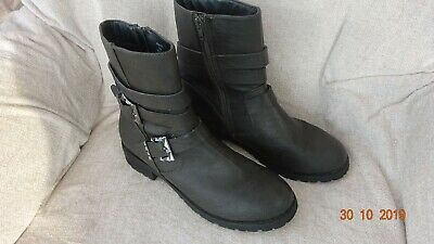 Red Herring / Debenhams Brown Ankle Boots Size 6 • 9.95£