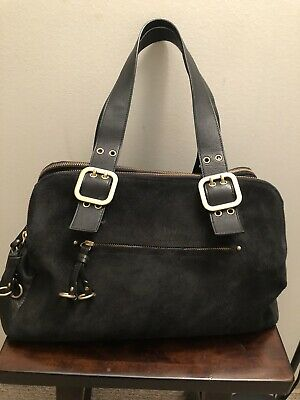 $ CDN70 • Buy Danier Suede Leather Shoulder Bag, Pre-owned In A Very Good Condition
