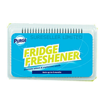 Fridge Fresh Deodoriser Air Freshener Kitchen Smell Odour Refrigerator Clean • 1.88£