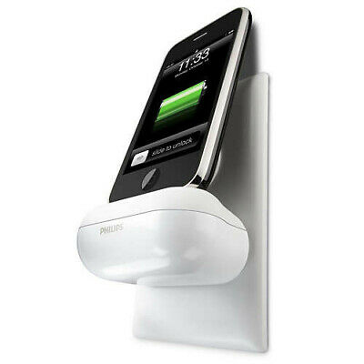 Philips Wall-Mounted Charging Dock For Apple IPhone & IPod | Home Wall Charger • 24.74£