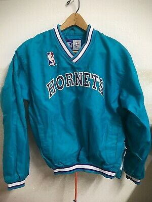 Charlotte Hornets Pullover Starter Jacket - Women's Or Youth Size XL - Nice!!! • 38$