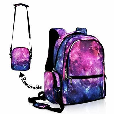 $49.23 • Buy School Backpack For Girls/Boys Teens Bookbag Lightweight Student (Galaxy)