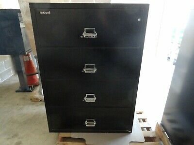 Fire King 4 Drawer Lateral Fire Proof Filing Cabinet • 1,250$