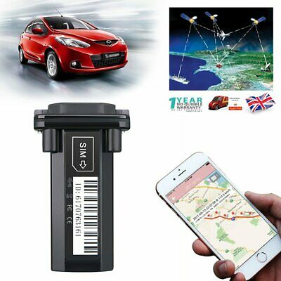 Car Spy GPS/GSM/GPRS Tracking Realtime Alarm System Device Tracker Monitor SMS • 14.99£