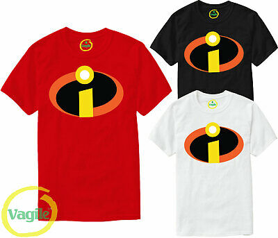 The Incredibles Superhero T Shirt Disney Pixar Joke Christmas Xmas Gift Men Top • 7.89£