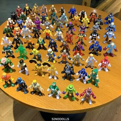 7 Set Fisher-Price Imaginext Power Rangers Dc Space Blind Bag Figure No Repeat • 7.99£