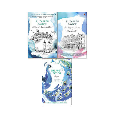 Elizabeth Taylor 3 Books Collection Angel,View Of The Harbour,Mrs Palfrey PB NEW • 21.99£