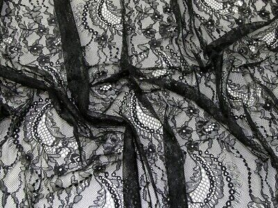£9.99 • Buy Chantilly Lace Fabric - Sold Per Metre