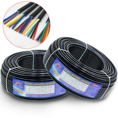 AU12.25 • Buy Multi Core PVC Electrical Wire Signal Mains Wire RVV Cable Wire 2/3/4/5/6/7/8mm²