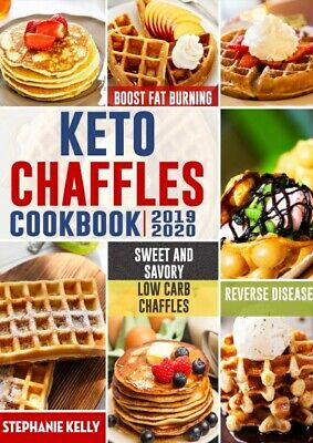 Keto Chaffles Cookbook Simple, Sweet And Savory Low Carb Chaffles Recipes P.D.F • 1.49$