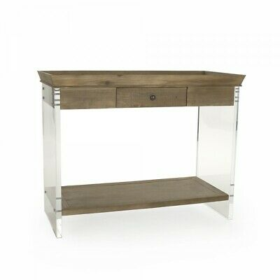 $2975.13 • Buy Zentique Charmain Acrylic Console (SKU: ZMA031 - W40 X H31 X D19 Inches)