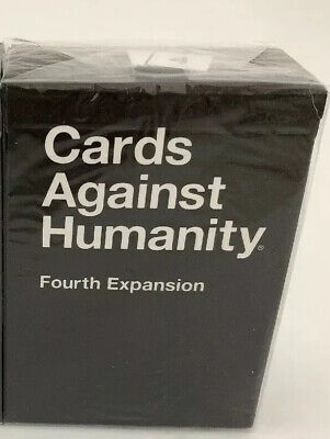 AU18 • Buy Cards Against Humanity Fourth Expansion- New - Sealed